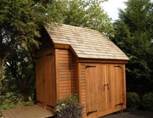 timber frame outbuilding shed