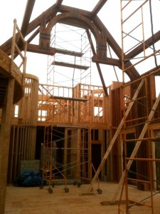 New and Recent Projects at Lancaster County Timber Frames – April 2011