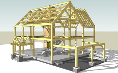 Ongoing and Upcoming projects at Lancaster County Timber Frames