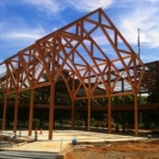 Lebanon VA Behavioral Health Complex Timber Frame