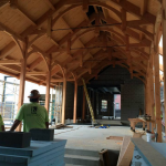 The St. Peter the Apostle timber frame