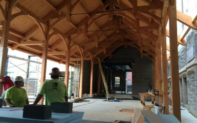 Ongoing & completed projects at Lancaster County Timber Frames