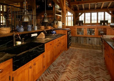 Matthias timber frame kitchen