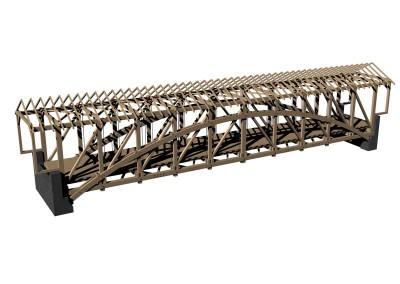 Siegrist Mill Bridge design drawing