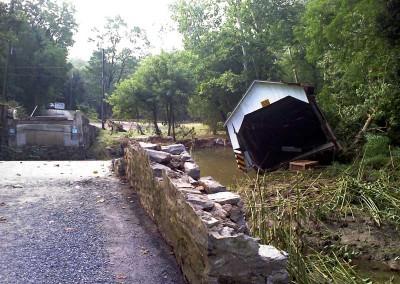 Siegrist Mill Flood Damage