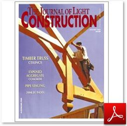 Journal of Light Construction