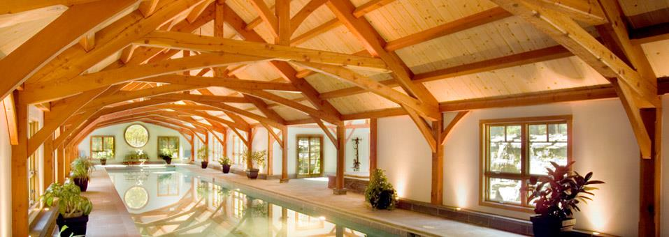 timber-frame-pool-house-large | Lancaster County Timber Frames, Inc.