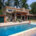 timber frame pool house