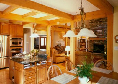 Schultz Timber Frame Kitchen