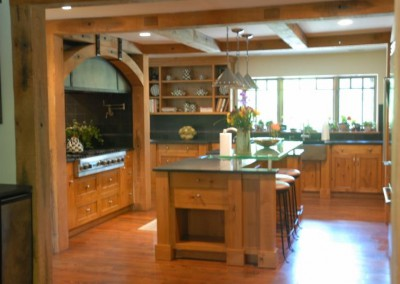 Timber Frame Kitchen