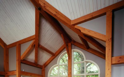 Ceilings in timber framed Spaces